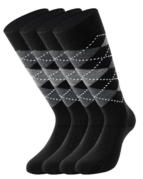 Billede af 2 PAIRS Lenz Knee-High Socks with Pattern 516 10