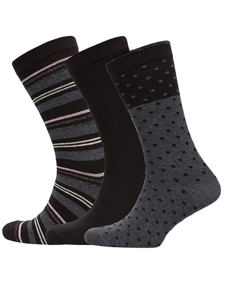Billede af Decoy 3 Pairs of Modern Socks for her 20226 + 20295