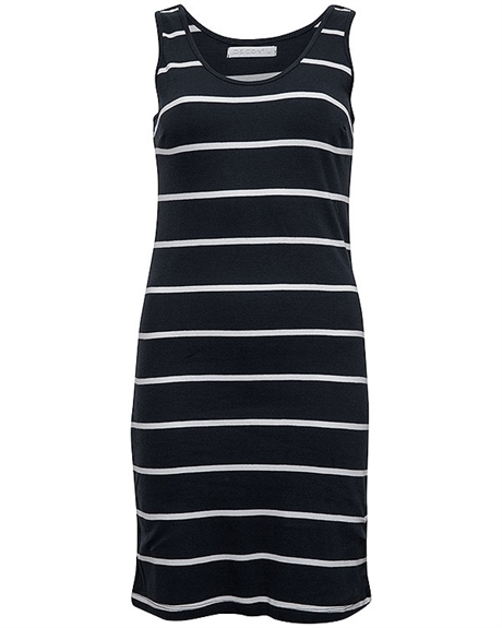 Billede af Decoy Summer dress for her- Navy blue - 88221 9001