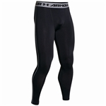 Billede af Under Armour Sorte HeatGear Armour Kompressions-tights 1257474-001