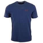 Billede af Under Armour Blå Charged Cotton Sportstyle T-Shirt 1257616 420