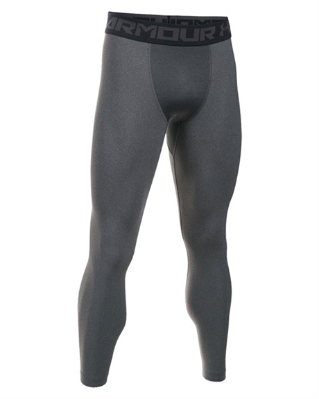 Billede af Under Armour Men's Gray HeatGear Armour Compression Leggings 2.0 1289577 090