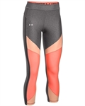 Billede af Under Armour Til Hende Leggings Grå/Orange 1292129 019