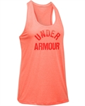 Billede af Under Armour Threadborne Orange Top 1290612 404